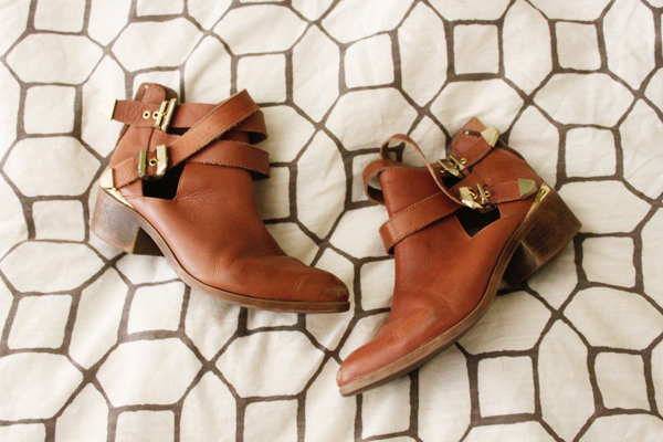Seychelles brown booties