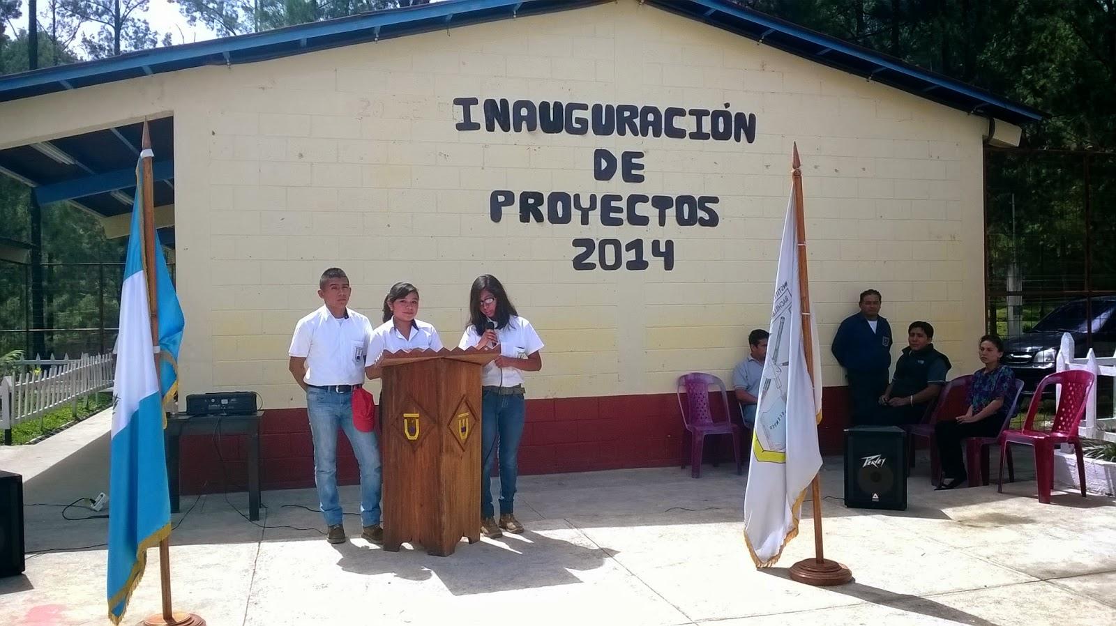 Inauguraci n de proyectos 2014 itdbc - Tecnico en construccion ...