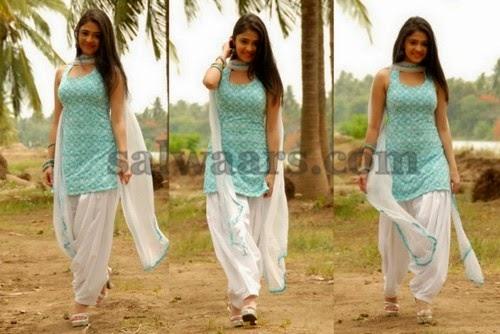 Rachana Malhotra Patiala Salwar