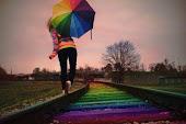 Só ando por trilhos coloridos