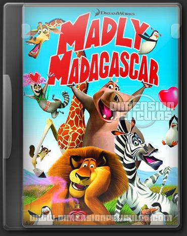 Madly Madagascar (DVDRip Español Latino) (2013)
