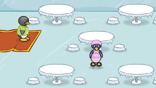 Permainan Ketangkasan Makan Malam Pinguin