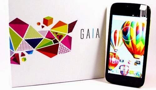 Harga dan spesifikasi Advan Gaia S4D , Layar qHD dan warna warni 1 Jutaan