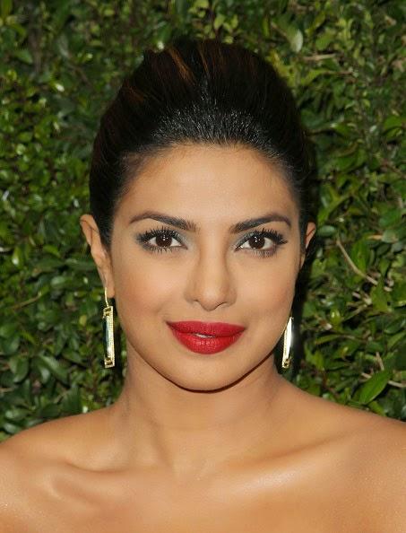 Priyanka Chopra's Gold Earrings