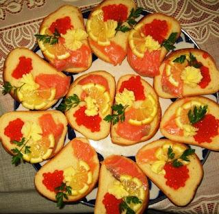 Бутерброды Ассорти на хлебе