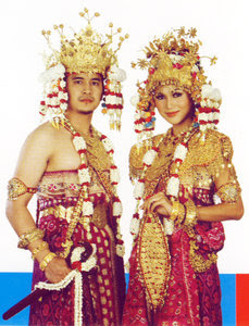 Paskibra, Paskibraka,Pakaian adat Sumatera Selatan