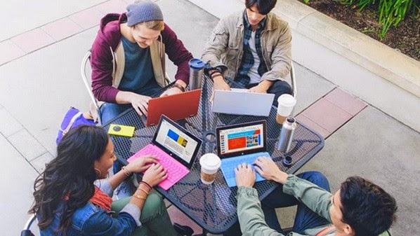 استخدام اوفيس مايكروسوفت مجانا للطلاب حول العالم