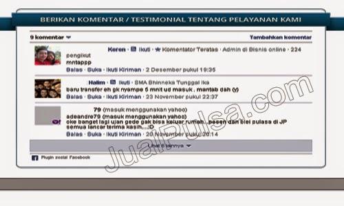 Jualpulsa.com Jual Pulsa Online Murah Terpercaya _Testimonial