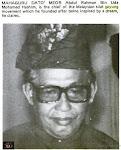 GAMBAR DATO MEOR ABDUL RAHMAN DALAM  BLACK BELT MAGAZINE 1974
