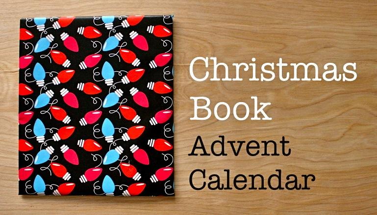 Book Advent Calendar Ideas : Books advent calendar made everyday