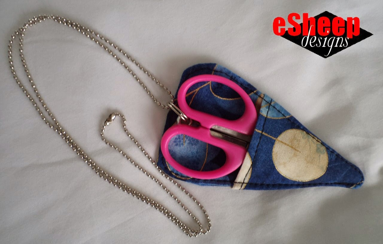 Scissors Sheath Project by eSheep Designs