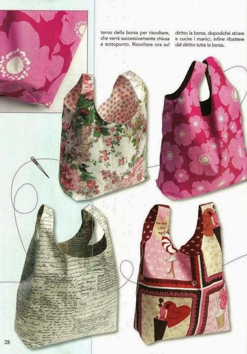 bolsa hecha por tí mismo, bolsa diy