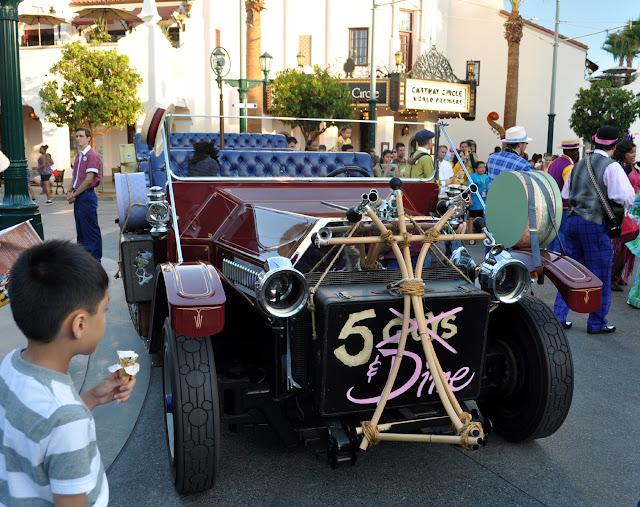 Just a car guy  A new street show at Disney California Adventure