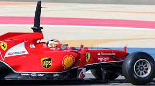 Sensores en la F1