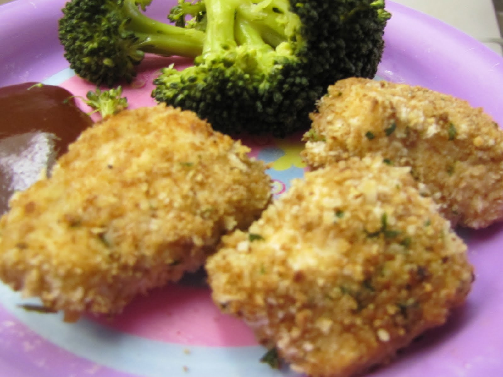 how to make healthy baked chicken nuggets