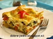 Zeleninové lazane - recept