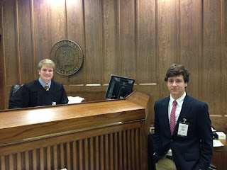 Two Montgomery Catholic Students Named Judges at YMCA Youth Judicial 2