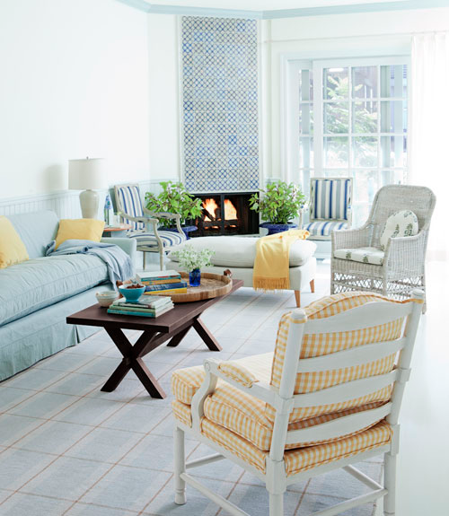 These 6 Pieces Of Colorful Furniture Are Absolute Must Haves: Dellah's Jubilation: Elated With Etsy: Yellow & Mint Beach