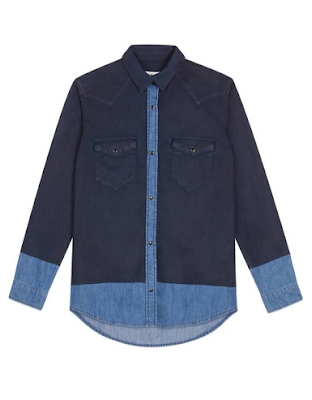 Denim shirt Sandro