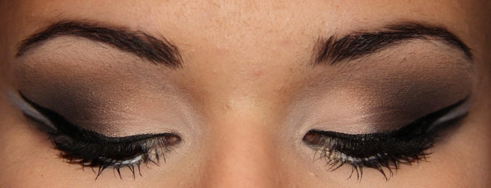 Kim Card for brown Kardashian  Inspired A Christmas eyes Makeup Kailan    Marie  covergirl eyeshadow