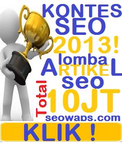 Kontes SEO 2013 SeoWaps