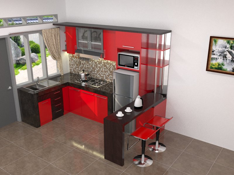 Kitchen Set Pak Badri Amin Kitchen Set Minimalis Jakarta