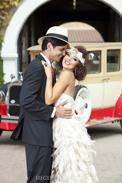 great gatsby bridal
