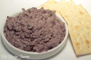 Black Bean Hummus with Lemon, Garlic and Sesame