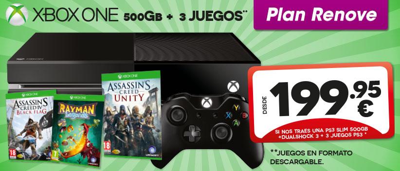 xbox-one-menos-de-200-euros-comprar-ofertas