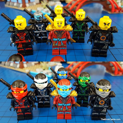 The Brick Castle: LEGO Ninjago Temple Of Airjitzu set 70751 Review