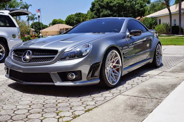 sl65 amg wheels