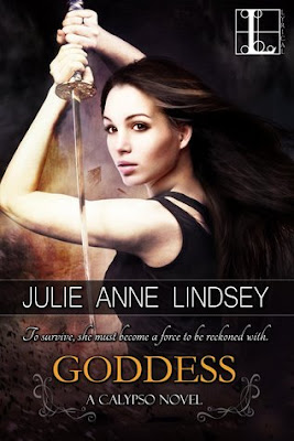 Goddess a calypso young adult paranormal novel by Julie Anne Lindsey