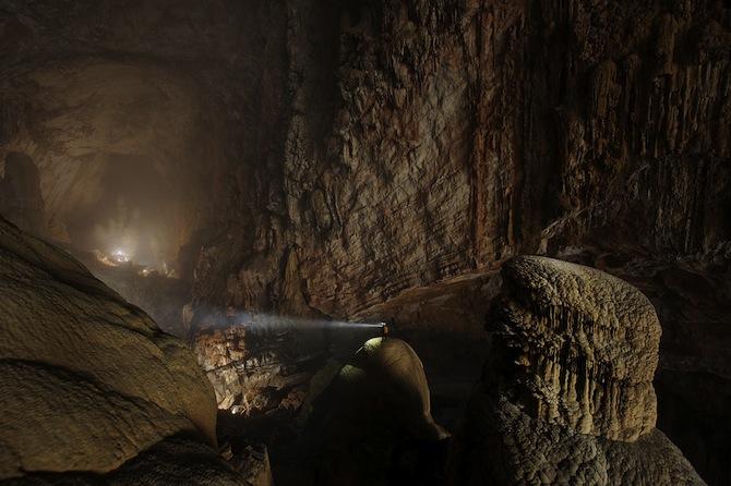 foto incrível caverna