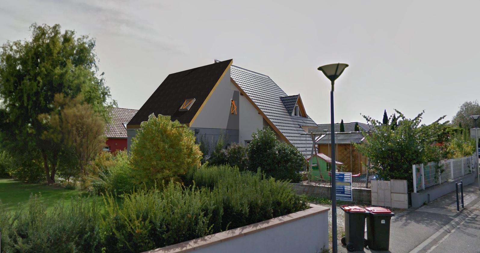 Piazzon architecture extension au dessus d 39 un garage for Extension d un garage