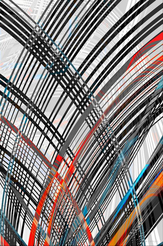 Textile Stripes by jim Keaton aka keatonic