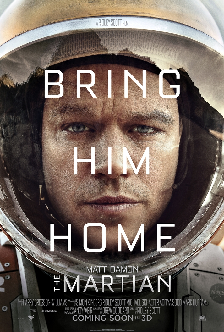 Póster: Marte (The martian)