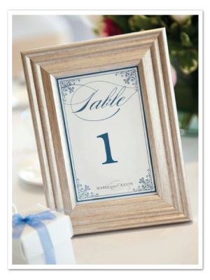 real wedding printable diy table number card divinity
