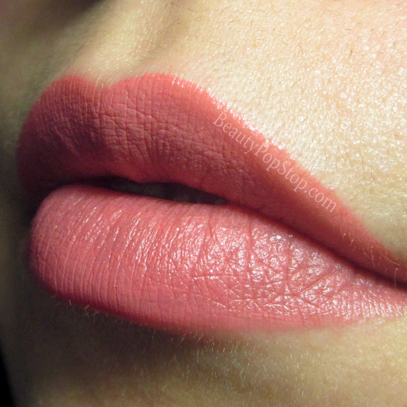 mac hood lipstick swatch and review
