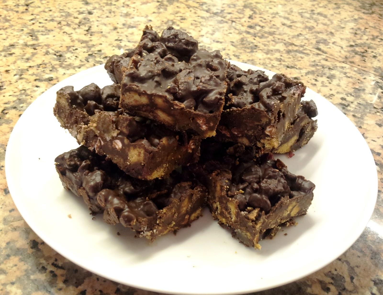 Chocolate Tiffin (Refrigerator Cake) Recipe