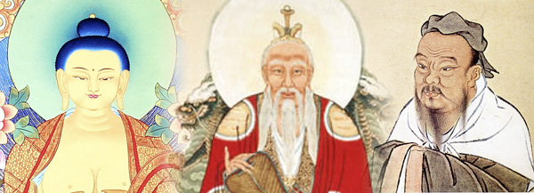 a comparison of buddhism taoism and confucianism In chinese philosophy, the phrase three teachings (chinese: wikt: pinyin: san jiao) refers to confucianism, taoism, and buddhism when considered as a harmonious aggregate some of the earliest literary references to the three teachings idea dates back to the 6th century by prominent.