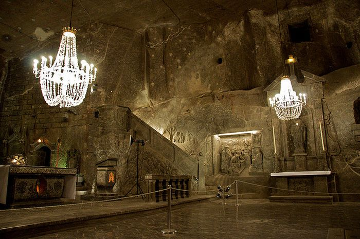 Wieliczka Salt Mine Poland Wallpapers Collection