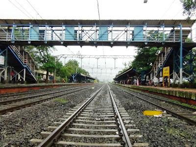 At Malavali railway Crossing
