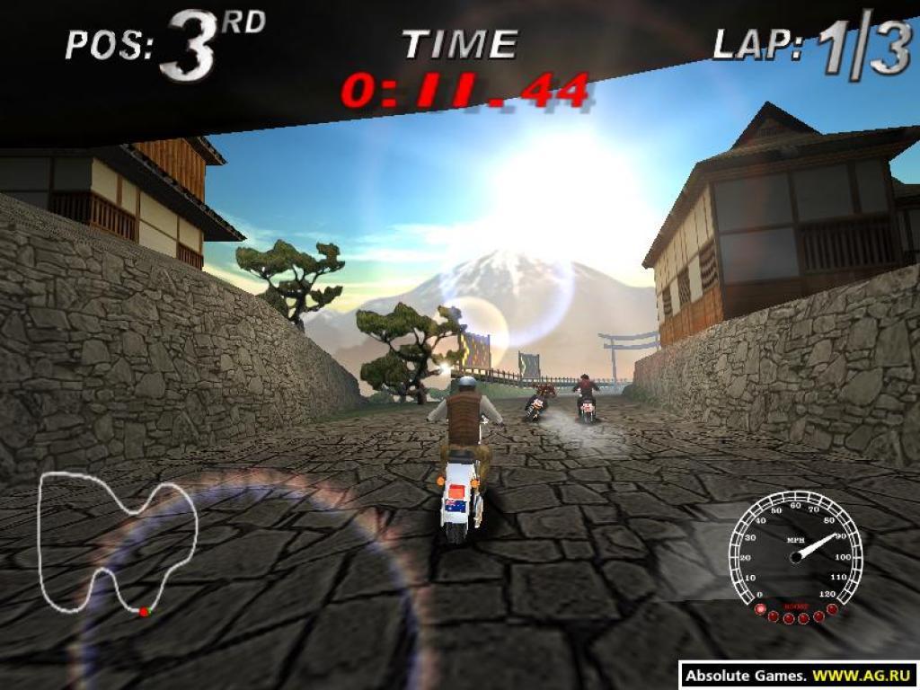 free harley davidson race around the world game download full