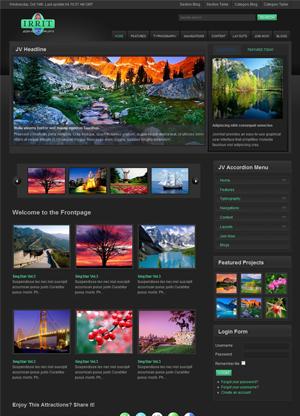 Share template JV Irrit - Joomla 1.5