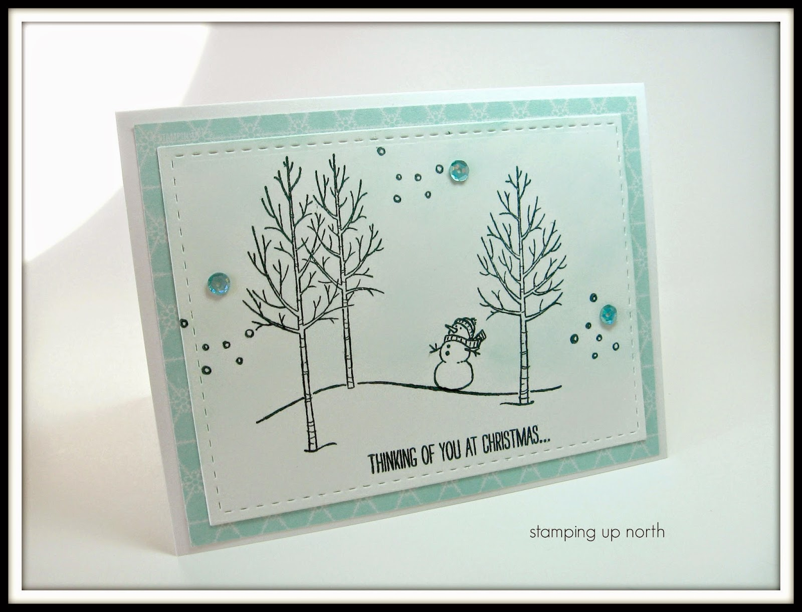 Stamping Up North With Laurie Stampin Up White Christmas