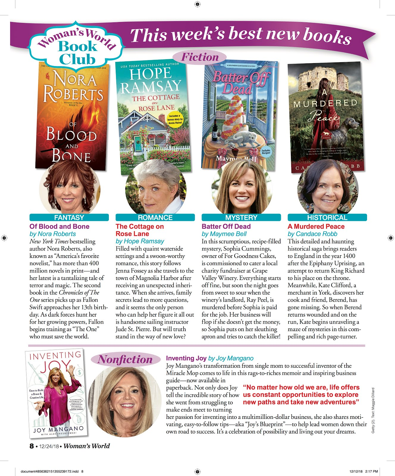 Woman's World Book Club Pick