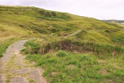 Castrillón, tramo del sendero litoral