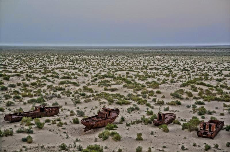 Moynaq ship Graveyard