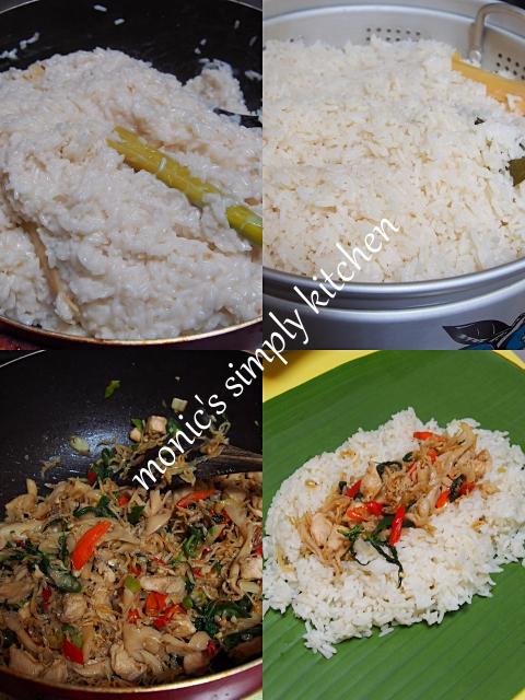 cara membuat nasi bakar NCC
