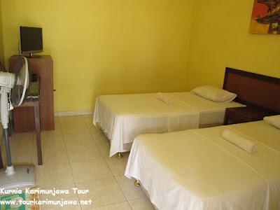 tempat tidur hotel